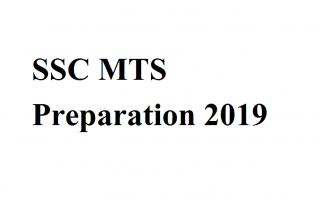 SSC MTS Preparation 2019