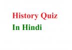 History Quiz in hindi