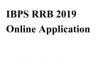 IBPS RRB 2019 Online Application