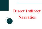 SSC CGL Direct Indirect Narration